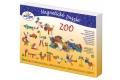 Puzzle magnétique ZOO - Puzzle magnétique original - A partir de 3 ans - Jouet en bois