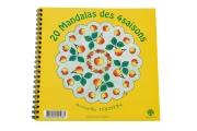 20 Mandalas des 4 saisons – Coloriage