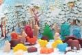 Calendrier de l'Avent Selecta - Figurines en bois - Forêt magique - Fabriqué en Allemagne