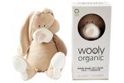 Doudou bio Lapin – grand modèle - Fabriqué en Europe - Doudou Lapin en velours de coton biologique