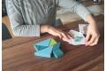 Tangram en bois Grimm's avec livret - Jouets Grimm's - Mon premier tangram en bois
