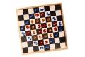 Jouets Grimm's - Cubes de construction en bois Monochrome – Echiquier
