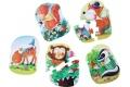 Play Box HABA - Fête des lutins - 5 Puzzles en carton rigide pour les plus petits - HABA