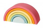 Arc-en-ciel (moyen) Pastel - Jouets Grimm's - Idée cadeau de naissance original