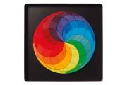 Puzzle magnétique Spirale de couleurs