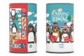 Jeu LONDJI - Domino Pingouins et leurs amis - Carton recyclé et fabrication européenne