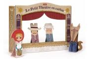 Théâtre en carton Petit Chaperon Rouge - Théâtre LONDJI - Marionnettes à doigts en carton rigide