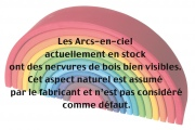 Arc-en-ciel (grand) Grimm's - Made by Nature
