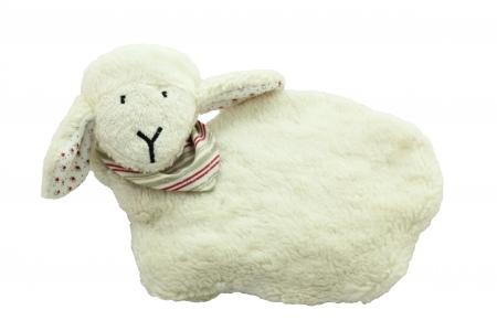 coussin bouillotte mouton bouillotte bio aux noyaux de. Black Bedroom Furniture Sets. Home Design Ideas