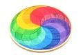 Puzzle créatif Spirale de couleurs