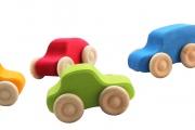Set de 6 voitures colorées