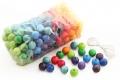 180 perles en bois (20 mm) - Perles en bois Grimm's