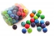 50 perles en bois (20 mm)