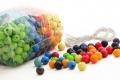 480 perles en bois (12 mm)