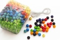 480 perles en bois (12 mm) - Perles en bois Grimm's