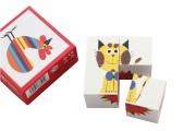 Puzzle cubes Minette et ses amis
