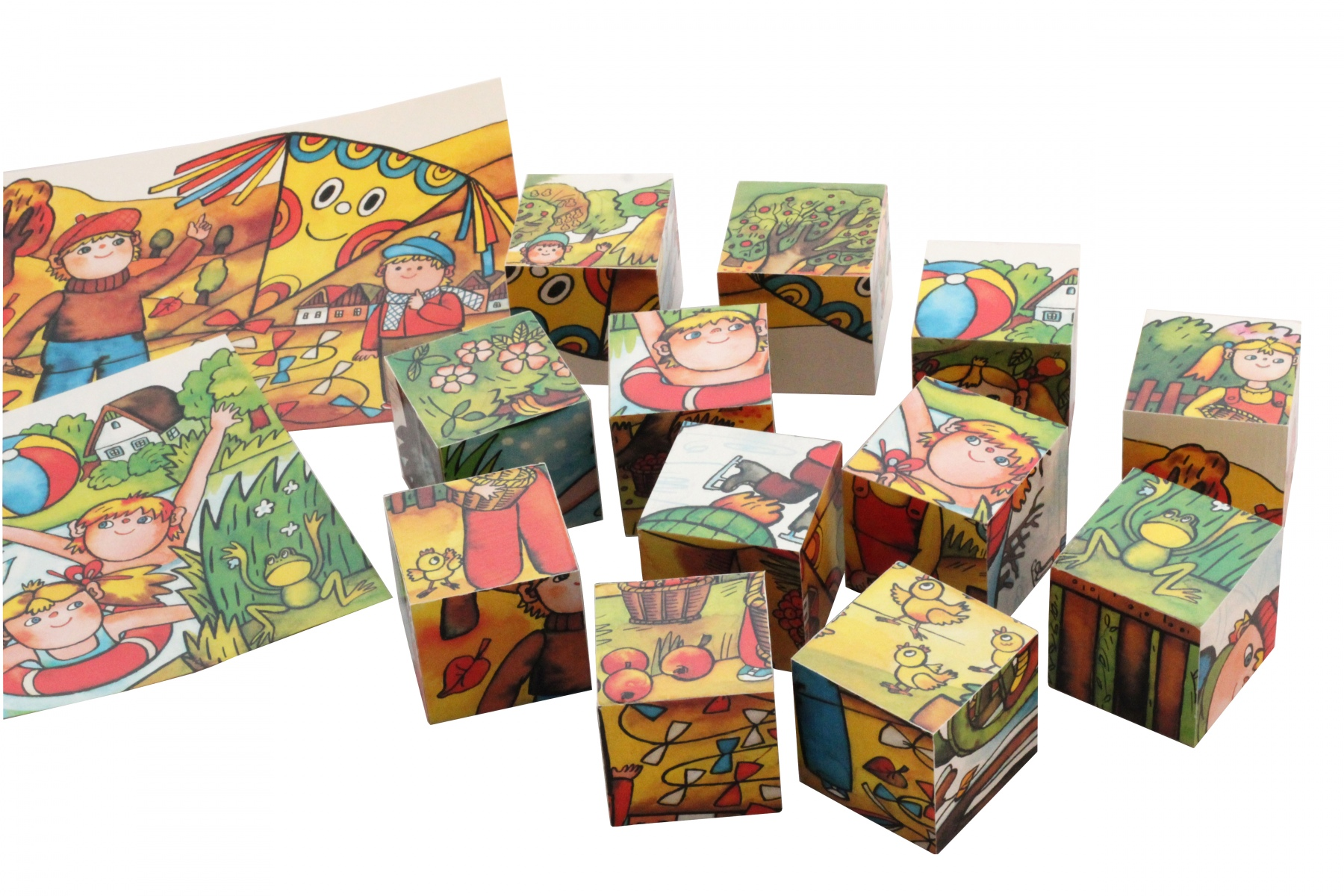 puzzle cube bois. Black Bedroom Furniture Sets. Home Design Ideas